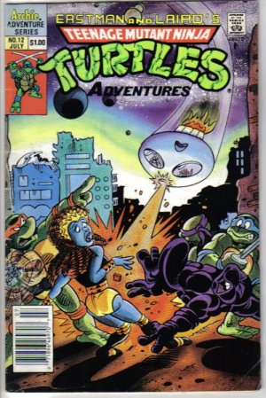 Teenage Mutant Ninja Turtles Adventures 12 July 1990 - Eastman and Laird - Archie Adventure Series
