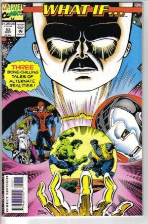 What If..? 53 (v. 2) September 1993 Marvel Comics - Spider-Man, Hulk, Iron Man