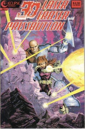 3-D Laser Eraser and Pressbutton Special 1 August 1986 Eclipse Comics