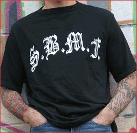 "SickBoy Motorcycles Men�s Tee ~Short Sleeve Biker T Shirt ""S.B.M.F."""
