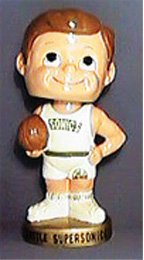SEATTLE SUPERSONICS BOBBING HEAD BOBBLE NODDER DOLL