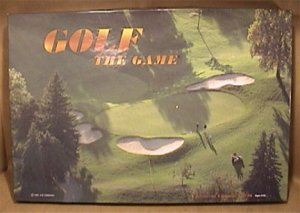 GOLF THE GAME A CHANCE AND TRIVIA GAME 1995