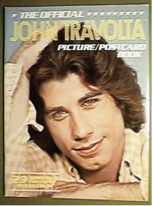 OFFICIAL JOHN TRAVOLTA 1978 PICTURE POSTCARD BOOK