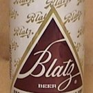 BLATZ BEER CAN BANK ALUMINUM new unused 1970s 1980s