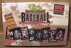 1992 MLB CLASSIC BASEBALL CARD TRIVIA GAME MIB SEALED