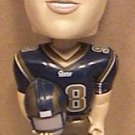 ST LOUIS RAMS FOOTBALL 98 GRANT WISTROM FOOTBALL BOBBING BOBBLE NODDER HARDEES