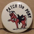 PATCH THE PONY PIN 1964 CHILD SAFETY PROGRAM