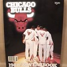 1988 1989 CHICAGO BULLS YEARBOOK NEW UNUSED JORDAN PIPPEN GRANT OAKLEY PAXSON