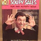 SOUPY SALES FUN and ACTIVITY BOOK 1965 Treasure Book
