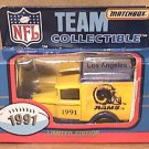 MATCHBOX TRUCK LOS ANGELES RAMS 1991 DELIVERY  MIB TEAM COLLECTIBLES LTD EDITION