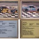4 NASCAR AUTOGRAPH DRIVER CARD 1992 FLASH ROCKFORD BILDERBACK GRILLE MAGEE GILLE