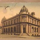 ANTIQUE POSTCARD US POST OFFICE LYON MASS POST MARKED MAY 8 1908