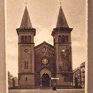 ANTIQUE POSTCARD SCT. PAULS KIRKEN LARNE STAMPED POST MARKED JULY 1938 DENMARK