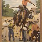 MILT MOE RIDES TEA TRADER POST CARD 1943 POST CARD doubleday