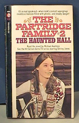 PARTRIDGE FAMILY # 2 PAPERBACK BOOK THE HAUNTED HALL 1st printing 1970
