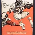 1984 FOOTBALL NFL NCAA FOOTBALL HANDBOOK GUIDE JIMMY THE GREEK