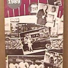1989 CHICAGO WHITE SOX BASEBALL MEDIA GUIDE BAINES FISK GUILLEN KITTLE