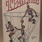 HARLEM GLOBETROTTERS PAPERBACK BOOK 1970 BASKETBALL GEORGE VECSEY