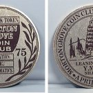 MORTON GROVE COIN CLUB GOOD LUCK TOKEN 11TH ANNUAL SHOW APRIL 20 1975 TOWER YMCA