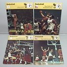 1977 SPORTSCASTER 4 BASKETBALL CARDS USA USSR KNICKS UCLA DYNASTY INTERNATIONAL