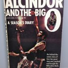 ALCINDOR AND THE BIG O 1966 BOOK A SEASONS DIARY PAPERBACK LANCER JOHN DEVANEY