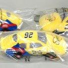 3 CHEERIOS CAR NASCAR #26 JOHNNY BENSON 1999 FORD TAURUS BEANIE NEW AD PREMIUM