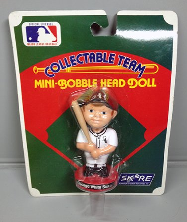 CHICAGO WHITE SOX BOBBING HEAD DOLL SKORE MIP NEW BASEBALL 1989
