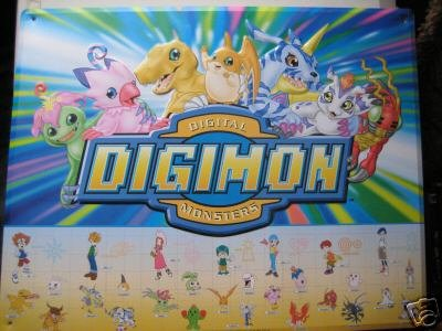 Digimon Metal Poster