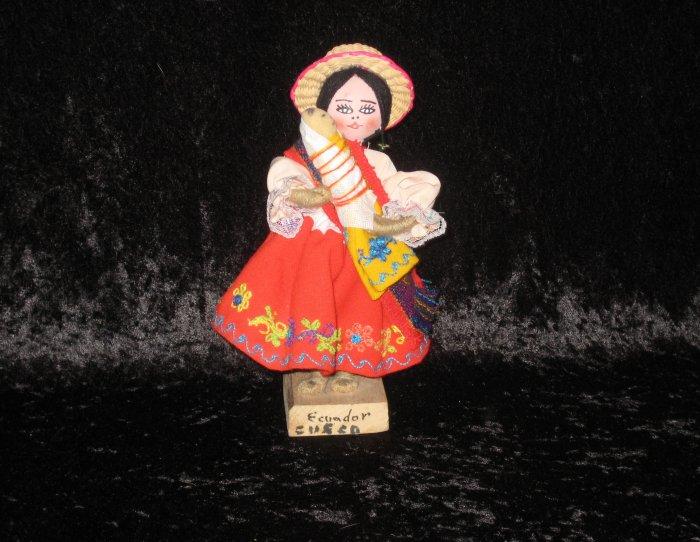 Older original Ecuador doll