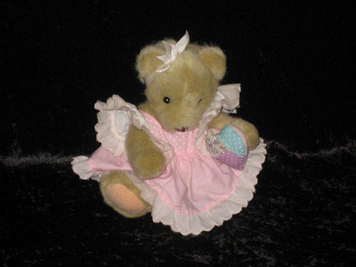 Dakin Cherished Teddies girl bear, 1994, Enesco, after Priscilla Hillman