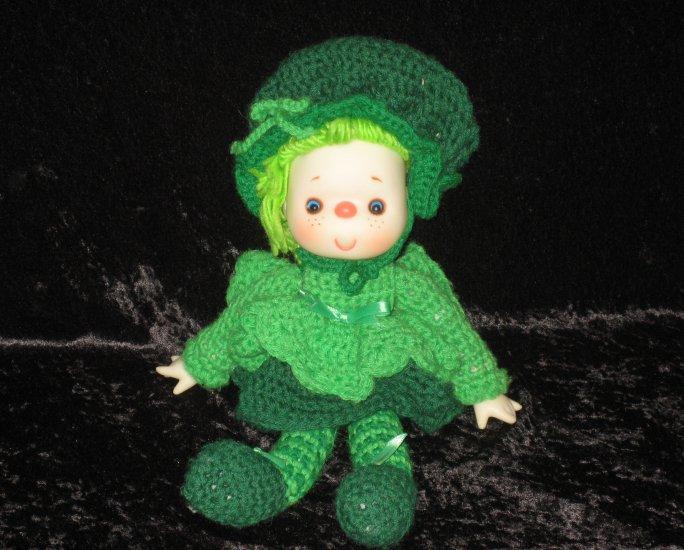 St. Patrick doll