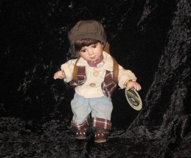 "Collectible Memmories Genuine Porcelain Doll - Alex- 9"""