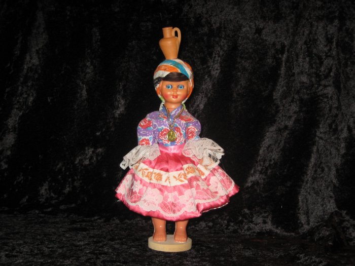 Old Portugal Doll, World Ethnic Collectible, Exact Replica of Costume,