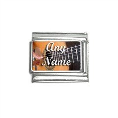 New Personalized 9mm photo Italian Charm Any Names Play Guitar