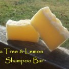 Tea Tree & Lemon Shampoo & Shaving Bar