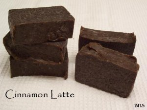 Cinnamon Latte Soap