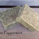Pure Peppermint 100% Natural soap