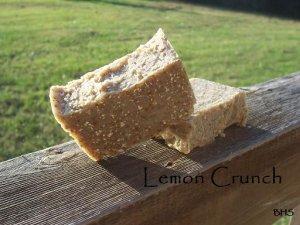 Lemon Crunch 100% Natural soap