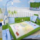 Froggies Pond Baby Infant Crib Nursery Bedding Set 15pc