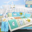 Farmland Animals Baby Infant Nursery Crib Bedding Set 15pcs
