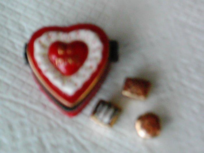 Heart Shaped Trinket Box NEW PHB Valentine's Day!