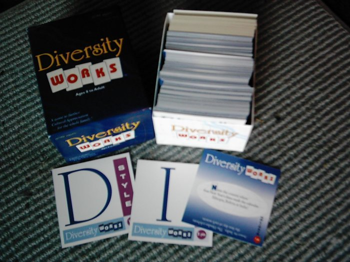 *SOLD* Diversity Works Family Trivia Game 1999