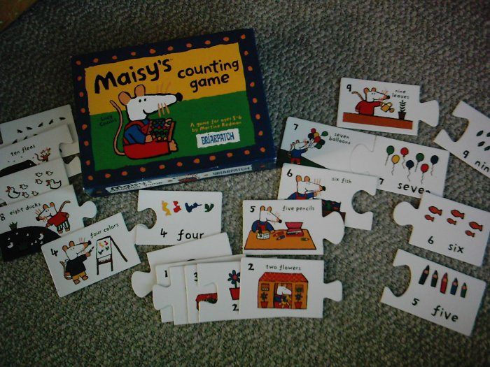 Briarpatch Maisy Counting Game Pre-school