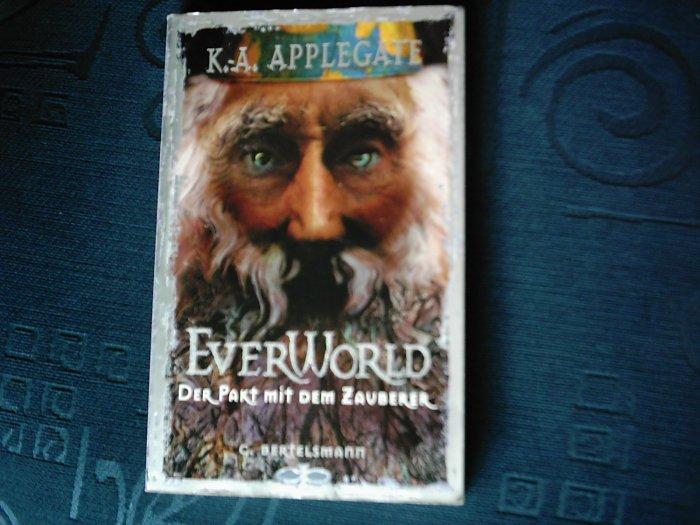 Everworld Book 3 in German Der Pakt Mit Dem Zauberer