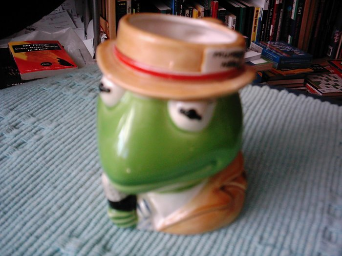 Muppet News Reporter Kermit the Frog Ceramic Mug