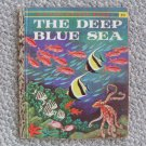 LGB The Deep Blue Sea 'A' Little Golden Book 1958 clean
