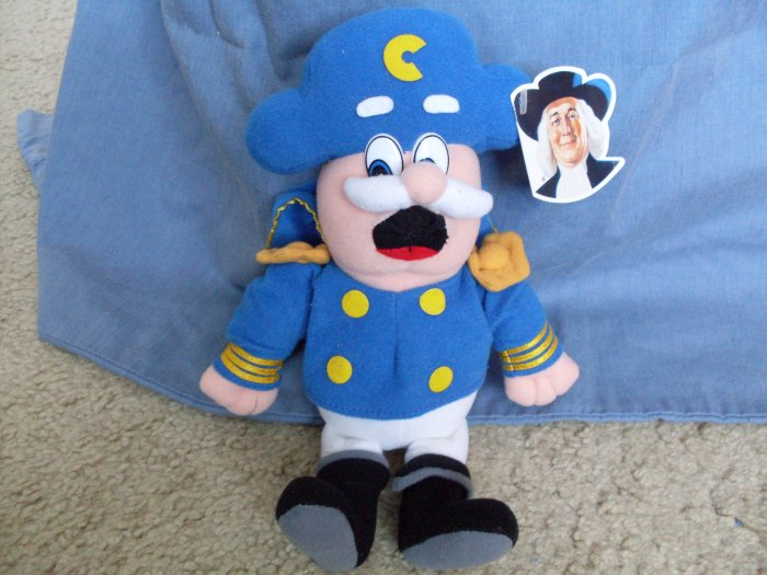 Quaker Cap'n Crunch Plush Toy 1999 w/tags EUC