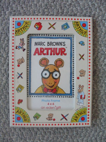 "Child's Picture Frame Marc Brown Arthur Aardvark 4""x6"""