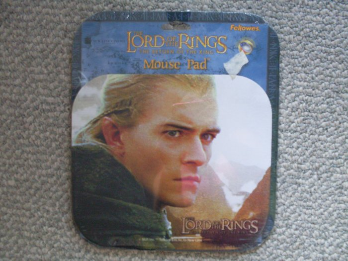 NEW Lord of the Rings Legolas Mouse pad LOTR NIP Bloom
