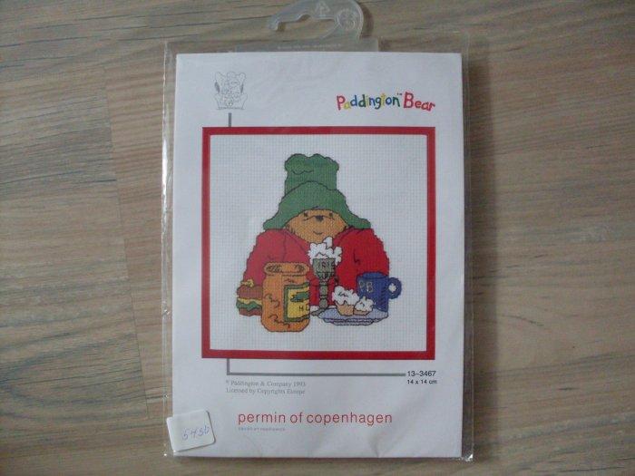 NEW Paddington Bear Danish needlework Cross Stitch Kit